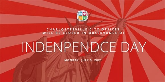City Hall closed for July 4
