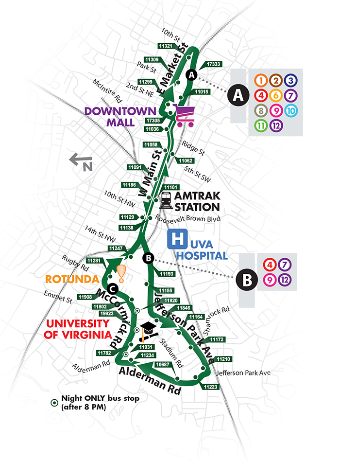 Free Trolley Map