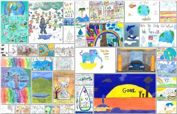 2019 Imagine a Day without Water Art Contest Top 40 Entries