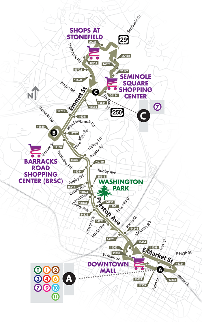 Route 8 Map