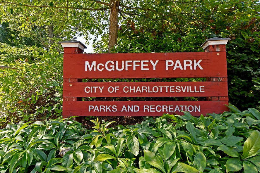 McGuffey Park Sign