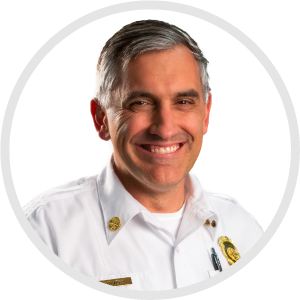 Joe Powers, Deputy Fire Chief
