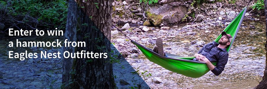Enter to win a hammock from Eagles Nest Outfitters