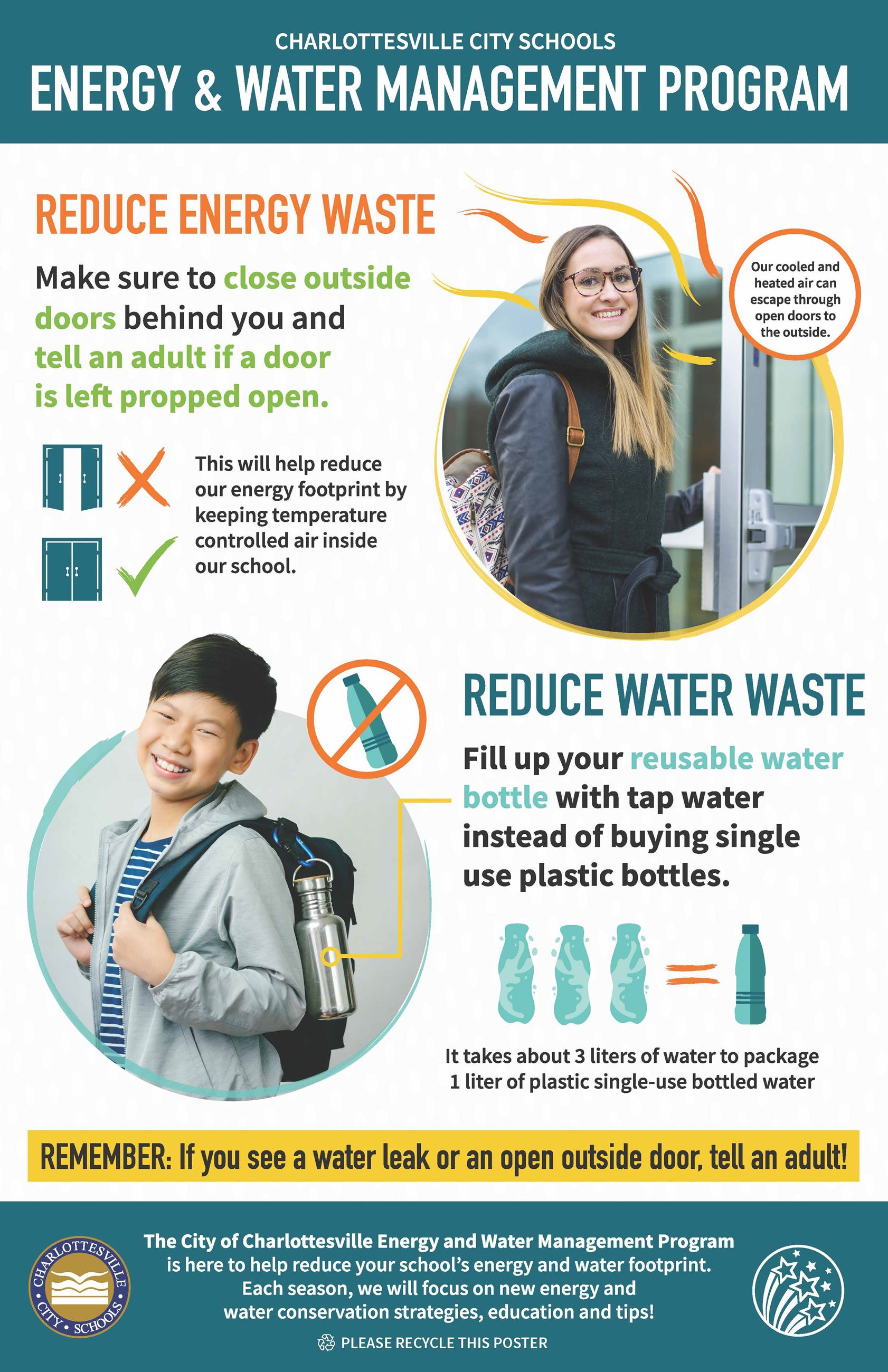 2020 Spring Energy and Water Management Program School Poster