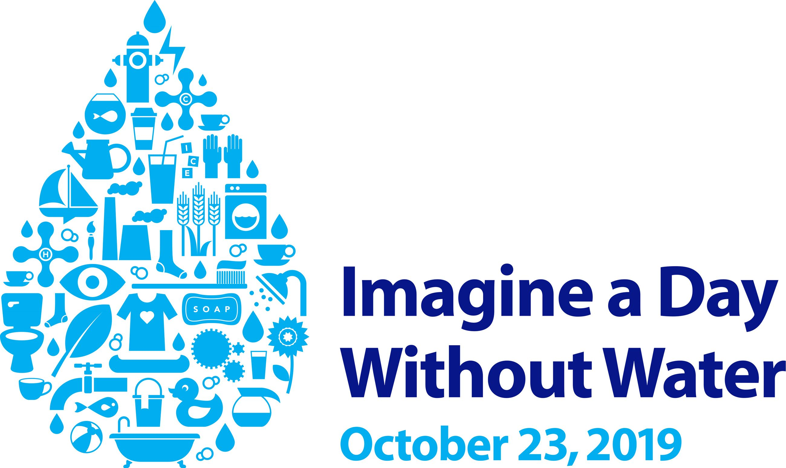 2019 Imagine a Day without Water Logo