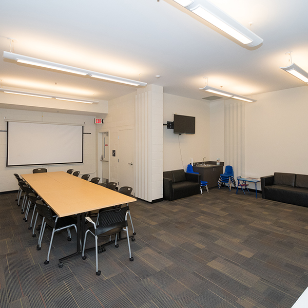 Carver Classroom and Lounge