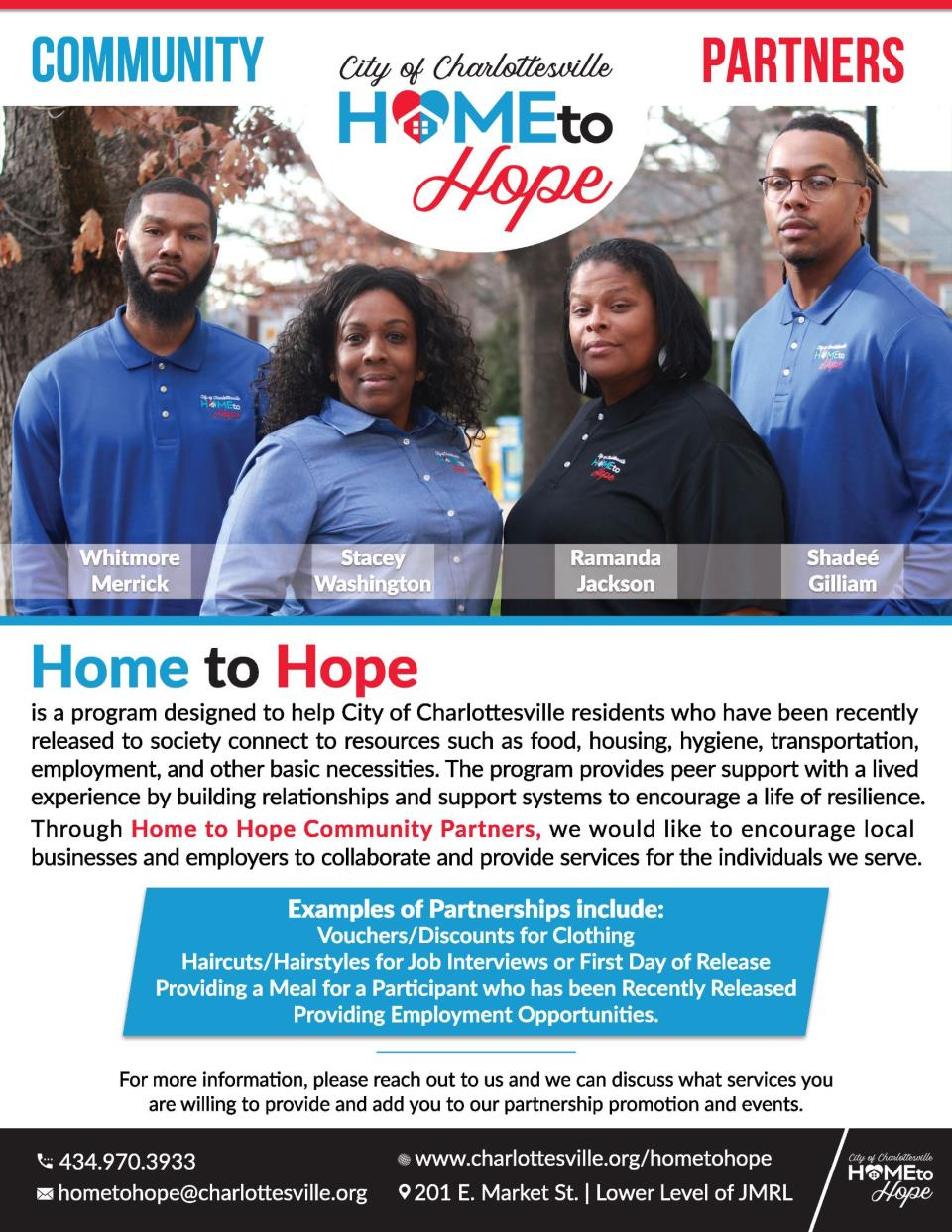 Home to Hope Community Partners Flyer