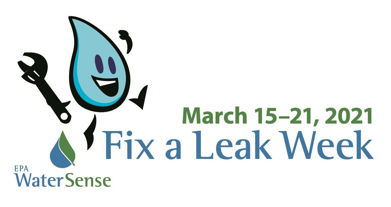 WaterSense Fix a Leak Week 2021 Logo
